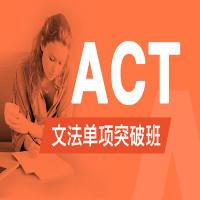 ACT文法单项突破班