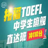 知心托福 中学生旗舰直达班 (冲110分)-新东方在线