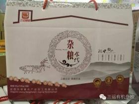 """""""三运""""杂粮食代礼盒"""