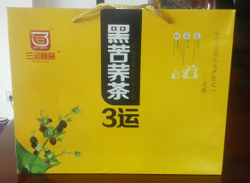 360g黑苦荞茶精品礼盒