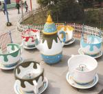 公园游乐设备咖啡杯转转杯 亲子乐园小型游