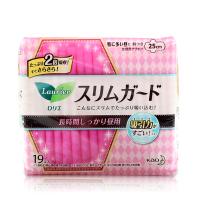 日本花王LAURI乐而雅日用护翼卫生巾 25cm19片