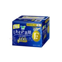日本进口 花王乐而雅卫生巾棉柔F400超长夜用孕妇产妇用 现货