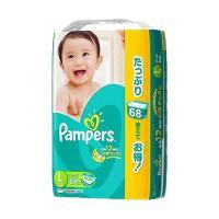 【全国包邮】日本帮宝适纸尿裤L68
