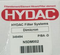 349494 N5DM002 Hydac 原装正品