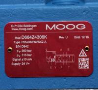 D664Z4306K P05JXNF6VSX2-A Moog 原装正品
