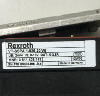0811405143  VT-SSPA1-525-20/V0 Rexroth 原装正品