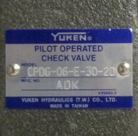 CPDG-06-E-30-20  Yuken 原装正品