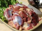 生鲜鸡胗肉