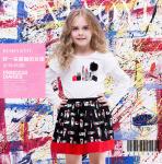 儿童印花服装(样图)
