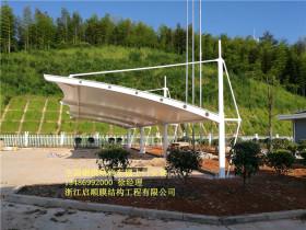龙浦高速膜结构车棚