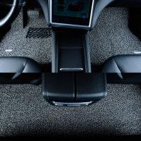 固特异(Goodyear)飞足系列汽车丝圈脚垫 日产轩逸/逍客专用 17MM厚度 经典灰黑 厂家定制直发