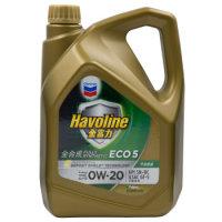 雪佛龙(Chevron)金富力全合成机油 ECO 5 [SAE SN] 0W-20 4L