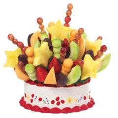愛蒂寶 非常一刻脆巧草莓新鮮定鮮果籃精美花籃水果花束探望禮品特殊的節日禮物 3.7kg M