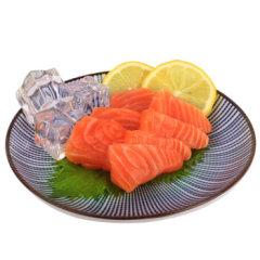 悅品王 冰鮮三文魚刺身中段 500g 生魚片 海鮮水產