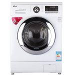 LG WD-T14410DL 8公斤直驱DD变频滚筒 静心系列洗衣机 智能手洗模式(白色)     LG WD-T14410DL 8公斤直驱D