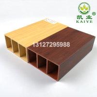 木塑绿可木100*50木纹方木