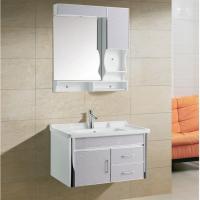 浴室柜019-D乳白条