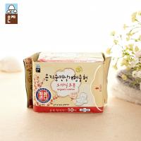 人气恩芝日用韩国香味普通型亲肤纯棉棉柔新品特价卫生巾