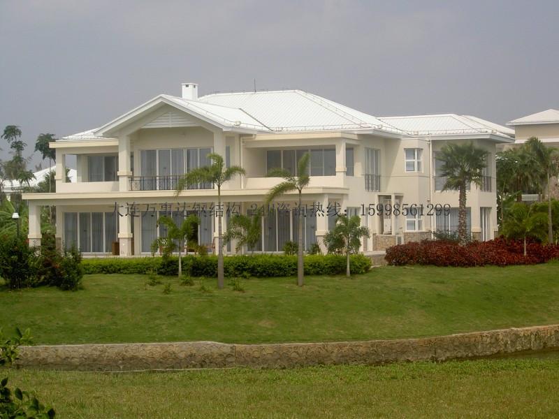 皮口钢结构别墅