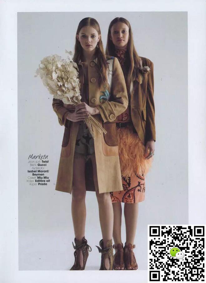 外籍女模特