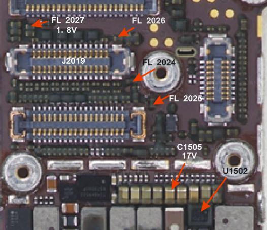 苹果6智能手机显示及背光灯电路剖析和维修