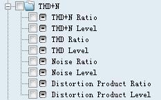 各阶谐波信号分布情况