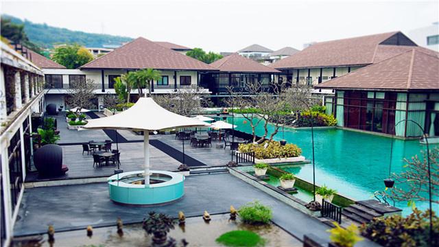 骏豪会原味巴厘岛风情顶级度假私人会所