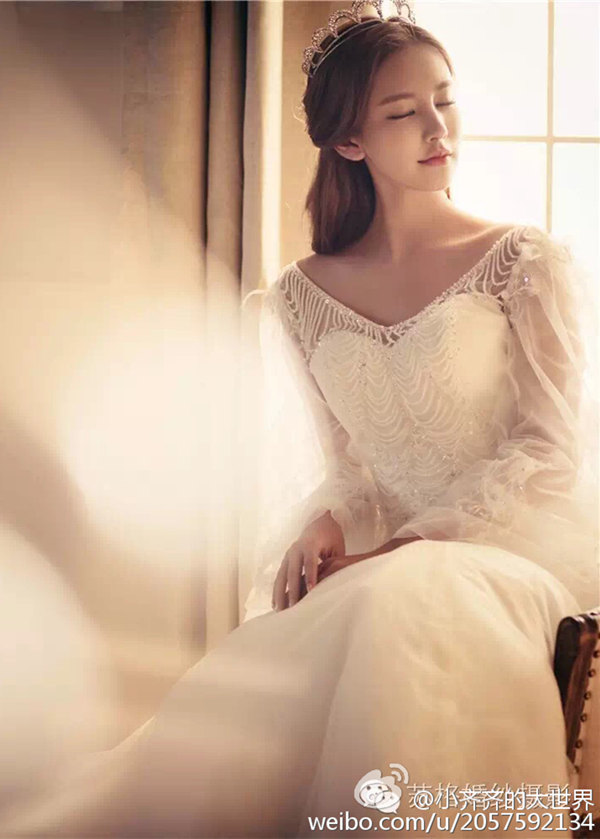 齐琦婚纱摄影写真