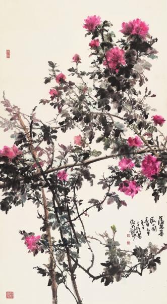 05满架蔷薇一园香  □徐立铨.jpg