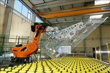 玻璃制造行业:传送平面玻璃