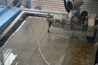 石材加工:花岗岩厨房台面的水射流切割