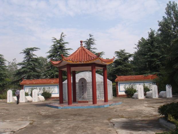 正阳县烈士陵园烈士墓.png