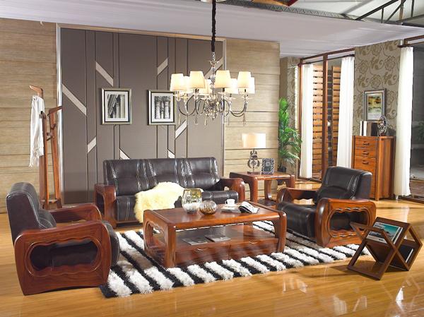 365体育手机版 森林黑胡桃客厅实木家具