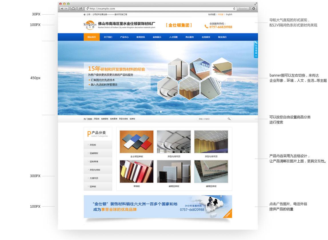 響應式網站建設設計構思