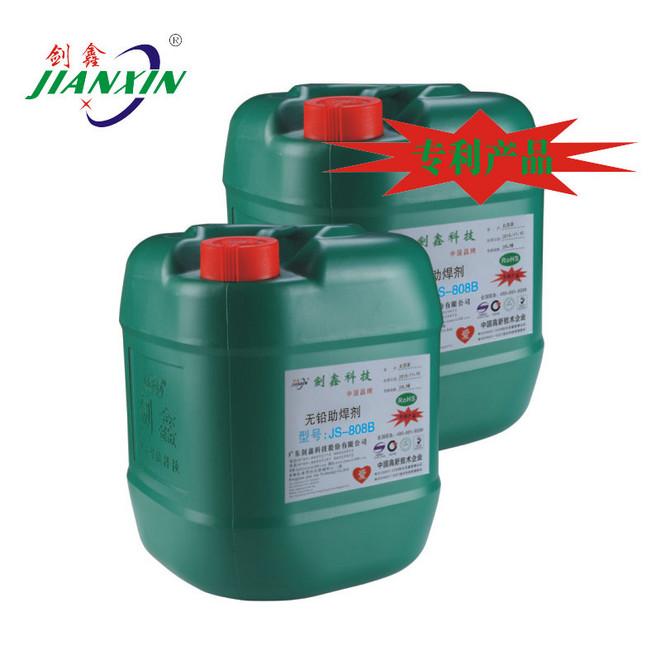 无铅免清洗中固量助焊剂JS-808B