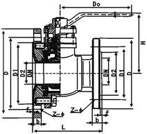 FQ41F-10放料球阀结构图.png