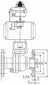 Q641F H Y气动浮动球阀结构图.png