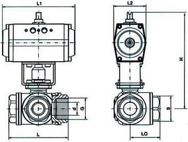 Q615F氣動螺紋三通球閥結構圖.png