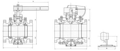 Q347F H Y锻钢高压固定球阀结构图.png