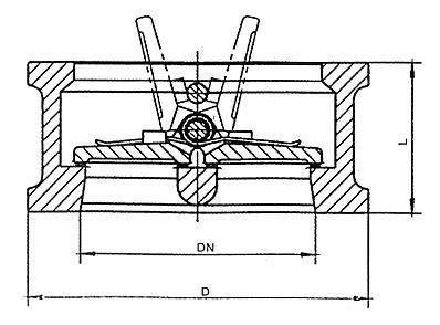 H76W对夹式双瓣止回阀结构图.png