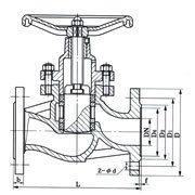 UJ41H-16C柱塞截止阀结构图.png