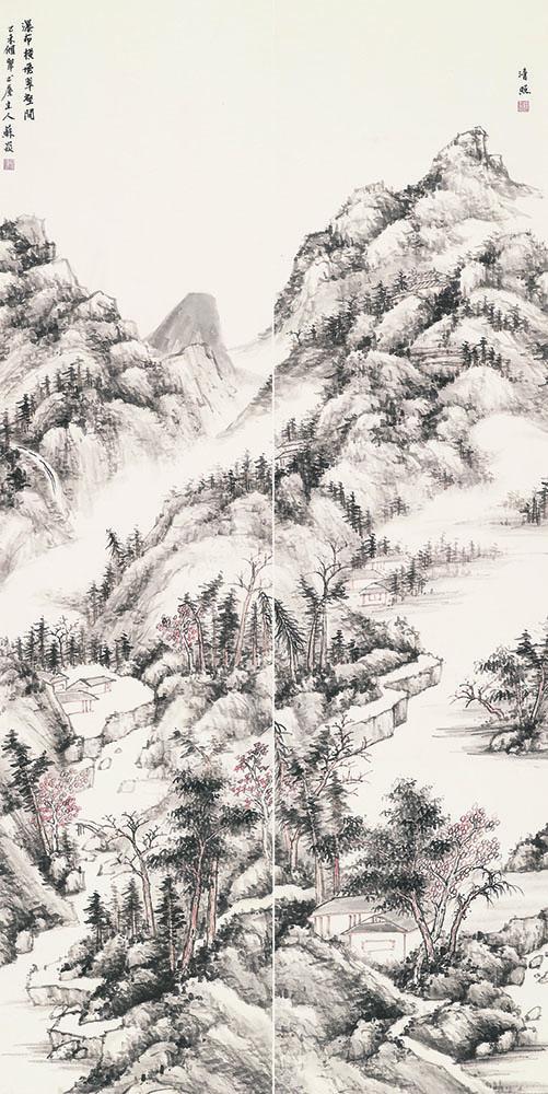 苏焱 瀑布横飞翠壑间s.jpg