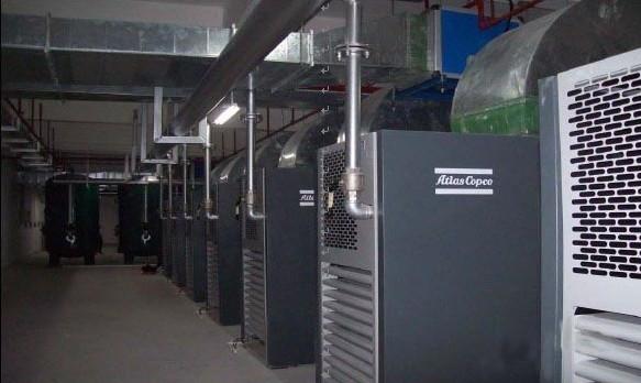 空压机真空管道工程安装(下图示)