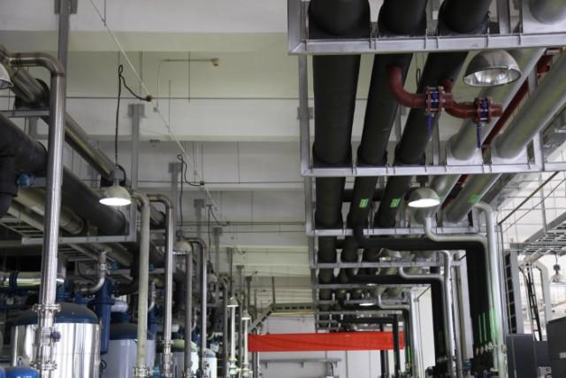 空压机热能回收利用工程安装(下图示)