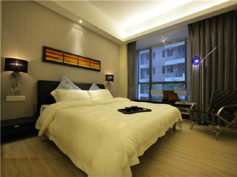 杭州天华美地105㎡现代简约风格装修设计效果图——房间装修设计