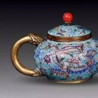中国风古茶壶